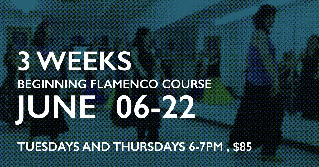 3 weeks beginning flamenco course