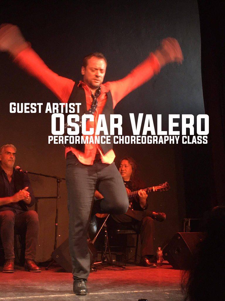 Oscar Valero performance choreography class