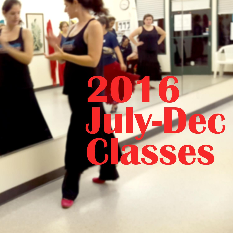 2016 Flamenco Classes