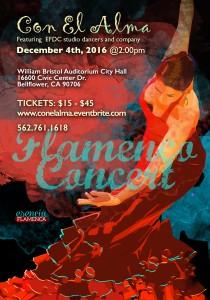Con El Alma, Flamenco Concert